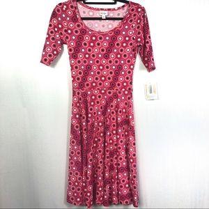 NWT LuLaRoe Nicole A-Line Dress Size XS